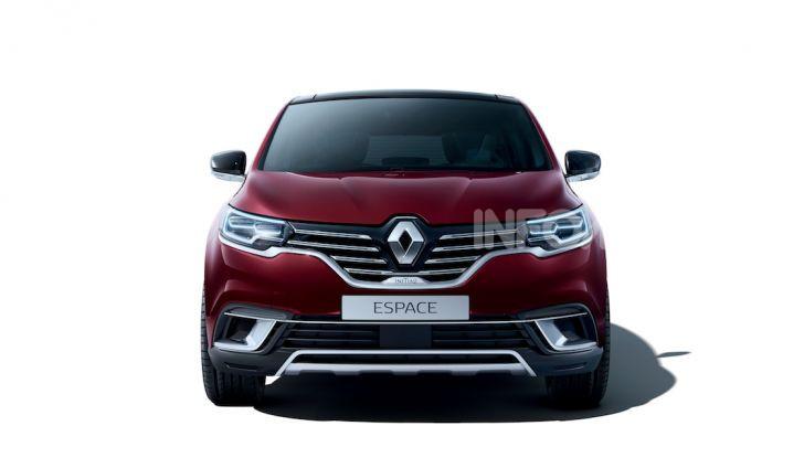 Nuova Renault Espace: look da crossover e tanta tecnologia - Foto 19 di 34