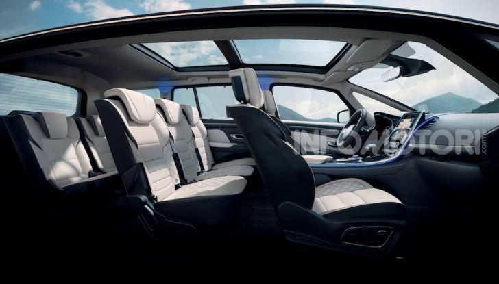 Nuova Renault Espace: look da crossover e tanta tecnologia - Foto 21 di 34