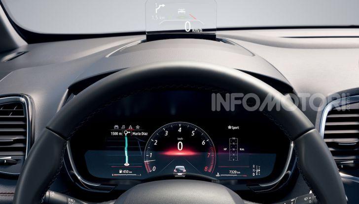 Nuova Renault Espace: look da crossover e tanta tecnologia - Foto 22 di 34