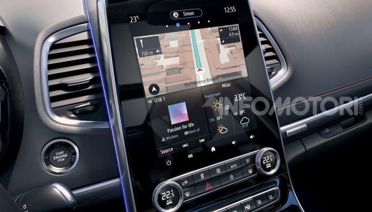Nuova Renault Espace: look da crossover e tanta tecnologia - Foto 25 di 34