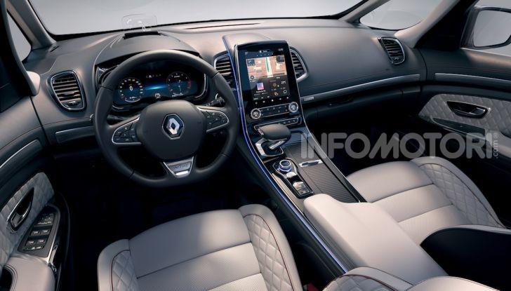 Nuova Renault Espace: look da crossover e tanta tecnologia - Foto 28 di 34