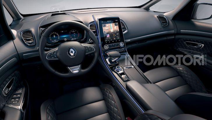 Nuova Renault Espace: look da crossover e tanta tecnologia - Foto 30 di 34
