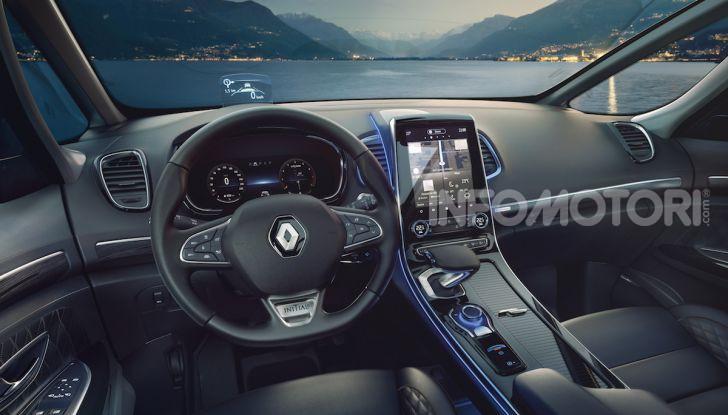 Nuova Renault Espace: look da crossover e tanta tecnologia - Foto 31 di 34