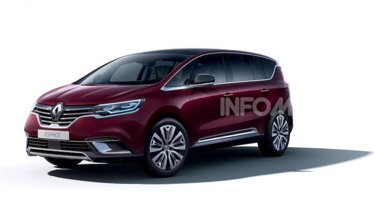 Nuova Renault Espace: look da crossover e tanta tecnologia - Foto 33 di 34