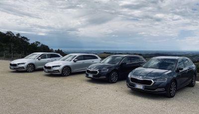 Nuova Skoda Octavia 2020 test drive, motori e dotazioni