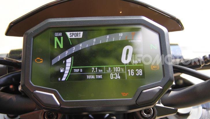 Prova Kawasaki Z900: 125 CV di puro godimento - Foto 30 di 31