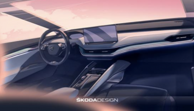 Skoda Enyaq iV: interni di design e in materiali ecosostenibili
