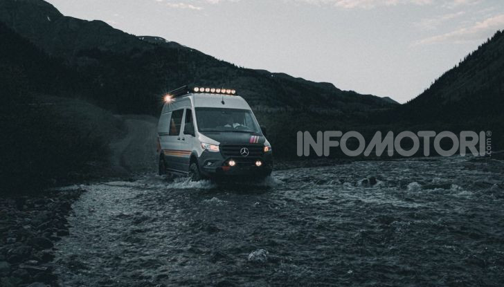 Storyteller Overland: tris di camper su base Mercedes Sprinter - Foto 3 di 9