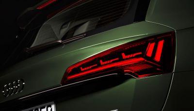 Audi Q5 2021: fari OLED intelligenti e tecnologia Car-to-X