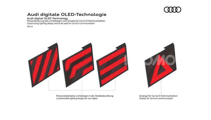 Audi Q5 restyling 2020 fari OLED