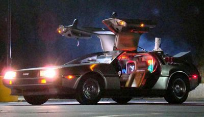 DeLorean, Batmobile ed Ecto-1: un'asta da film, in tutti i sensi