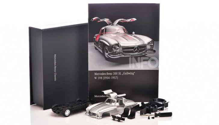 Mercedes 300 SL Ali di Gabbiano: arriva il modellino in scala 1:38 - Foto 2 di 3