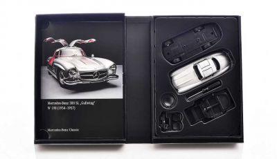 Mercedes 300 SL Ali di Gabbiano: arriva il modellino in scala 1:38