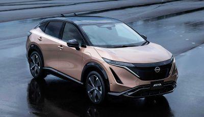 Nissan Ariya 2021: svelato il nuovo crossover coupè 100% elettrico
