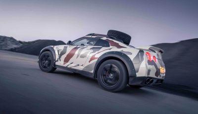 Godzilla 2.0, la Nissan GT-R da fuoristrada con 600 cavalli sotto il cofano!