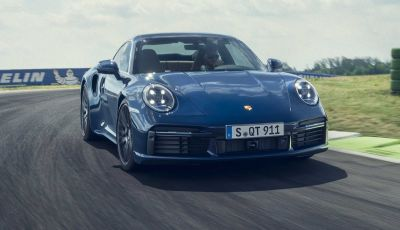 Porsche 911 Turbo 2020: 580 CV e 750 Nm di coppia