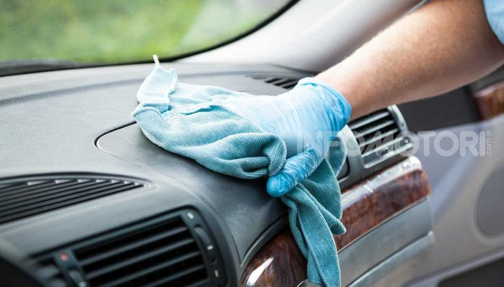 Sanificazione auto 2020