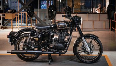 Royal Enfield Tribute Black: finisce l'era del monocilindrico da 500 cc