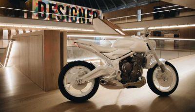 Triumph svela il Trident Design Prototype