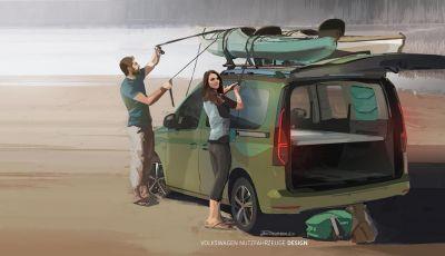 Volkswagen: ecco le prime immagini del nuovo mini-camper
