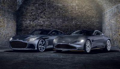 Aston Martin: in arrivo la Vantage e la DBS Superleggera di 007