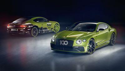 Bentley: iniziata la produzione della Continental GT Pikes Peak by Mulliner