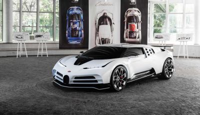 """Bugatti Centodieci: ecco il """"regalo"""" di Cristiano Ronaldo per lo scudetto"""