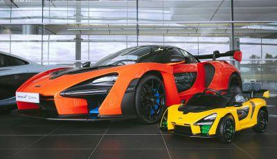 McLaren Senna Ride-On: la baby-supercar elettrica per i più piccoli