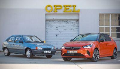 Opel Kadett Impuls I: l'antenata della Corsa-e spegne trenta candeline