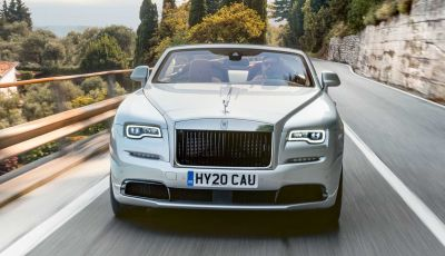 Rolls Royce Dawn Silver Bullet, la serie limitata sfila sul Lago di Garda