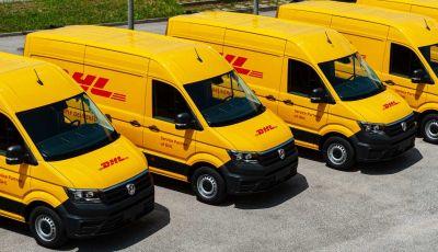 Volkswagen: 39 Crafter allestiti da GEMA consegnati a DHL