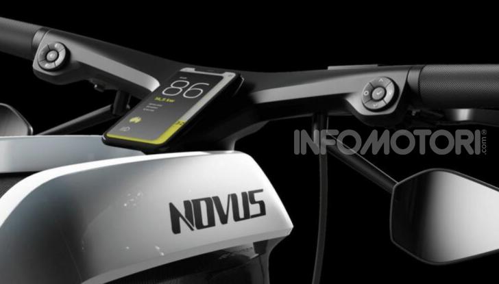 Novus: la moto elettrica per chi sogna (e può spendere) in grande - Foto 1 di 11