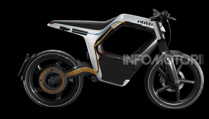 Novus: la moto elettrica per chi sogna (e può spendere) in grande - Foto 10 di 11