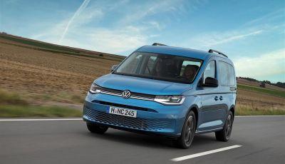 Volkswagen Caddy California: il mini van per i lunghi viaggi