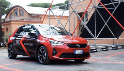 Opel Corsa-e auto ufficiale di X Factor