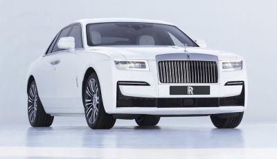 Rolls Royce Ghost: lusso e tecnologia allo stato puro