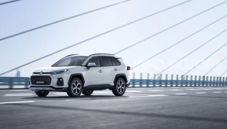 [VIDEO] Suzuki ACross: il SUV ibrido che si sente una sportiva - Foto 18 di 44