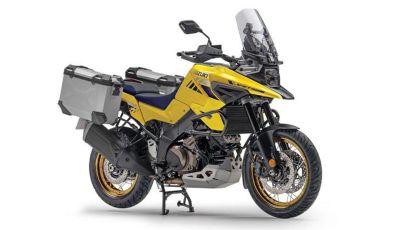 La Suzuki V-STROM 1050 XT diventa PRO