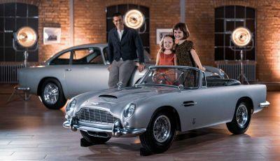 Aston Martin DB5 Junior: l'auto-giocattolo per i 007 del futuro