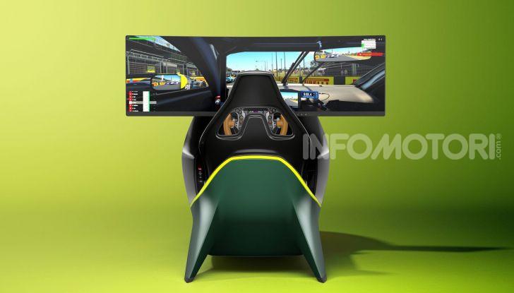 Aston Martin Valkyrie AMR-C01 simulatore
