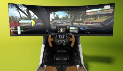 Aston Martin: ecco il simulatore AMR-C01 da oltre 60.000 Euro su base Valkyrie