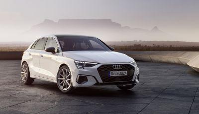 Nuova Audi A3: le versioni 1.0 MHEV e 1.5 g-tron ora ordinabili in Italia