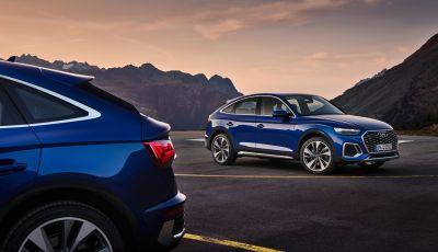 Audi Q5 Sportback 2021 anche mild e plug-in hybrid