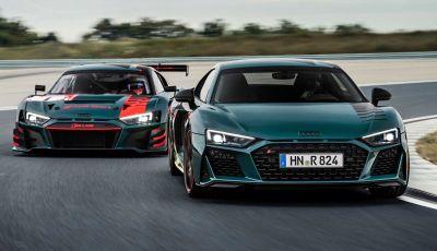 Audi R8 Green Hell: omaggio ai successi nella 24 Ore del Nürburgring