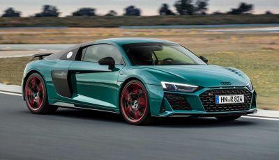 """Audi R8: solo 50 esemplari per la """"Green Hell"""" edition"""