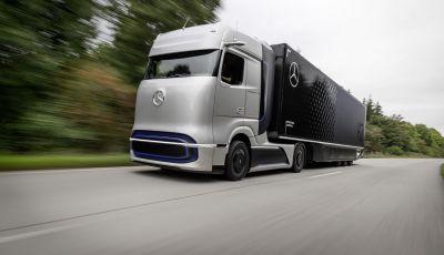 Daimler Trucks verso l'elettrico con il Mercedes-Benz Gen H2 Truck