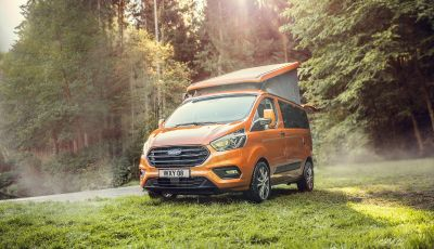 Ford Transit Custom Nugget: il camper multifunzione by Westfalia