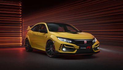 Honda Civic Type R 2021: Limited Edition da 320 CV e 100 esemplari