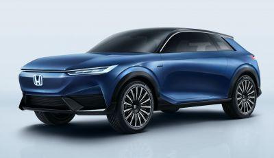 Honda e:Concept e CR-V plug-in hybrid presentate in anteprima