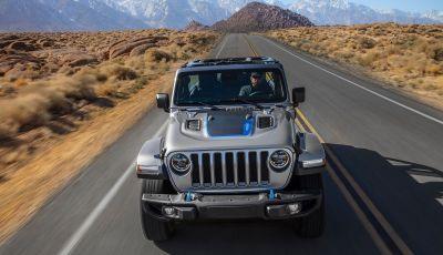 Jeep Wrangler 4xe: inizia la produzione della Plug-in Hybrid 2021